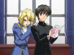 Wolfram and Yuuri        _Kyo Kara Maoh!