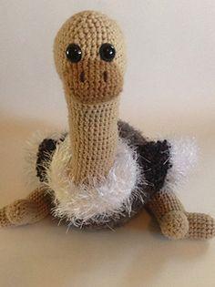 Derp, The Amigurumi Ostrich - $5.00 by Haley Baxley