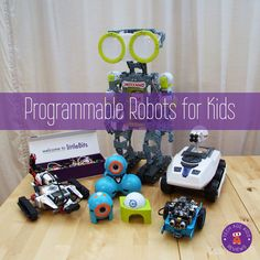 programmable robots for tech age kids
