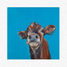 """Fine Art Cow Print """"Piper"""""""