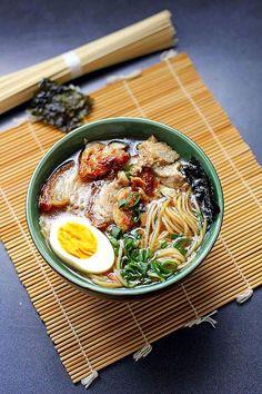 Shoyu Ramen ~ Japanese Pork Noodle Soup