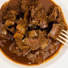 Egy finom Vaddisznópörkölt bográcsban ebédre vagy vacsorára? Vaddisznópörkölt bográcsban Receptek a Mindmegette.hu Recept gyűjteményében! My Favorite Food, Favorite Recipes, Pork, Food And Drink, Cooking Recipes, Beef, Dishes, Drinks, Kale Stir Fry