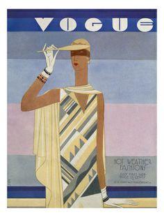 Portada Revista Vogue. EDUARDO GARCÍA BENITO. VALLADOLID (1881-1981). 1927. Colección privada.