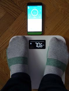 Yunmai Mini Smart Fat Scale - connexion avec application