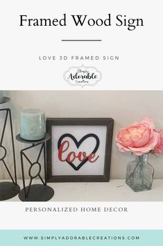 Love is in the air with this framed love sign. Visit our website for all of our wedding gift ideas Valentine Decorations, Paper Decorations, Christmas Decorations, Bride Gifts, Wedding Gifts, Our Wedding, Wedding Hands, Diy Presents, Love Signs