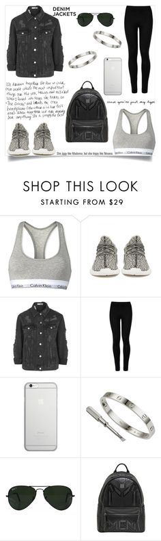 """""""calvin"""" by http-dejour ❤ liked on Polyvore featuring Calvin Klein, adidas Originals, Topshop, Wolford, Native Union, AG Adriano Goldschmied, Cartier, Ray-Ban and MCM"""
