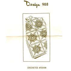 Crochet Flower Afghan Pattern Laura Wheeler 988