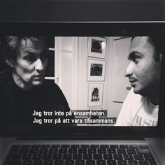 Documentary when Lars Lerin finds love.