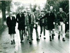 Traditional Skinhead fashion!