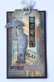 Birthday Card for Tim Holtz