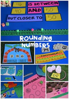 Rounding Numbers and Place Value Activities for THIRD Grade from Step into 2nd Grade with Mrs. Lemons.