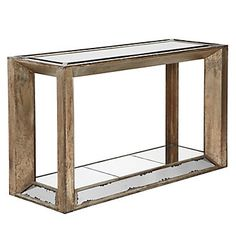 Pascual Mirrored Coffee Table By Z Gallerie Rustic Luxe