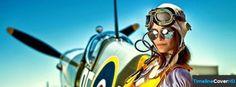 Vintage Pilot Facebook Cover Timeline Banner For Fb Facebook Cover
