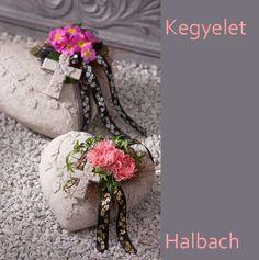 A legnagyobb és immár több mint 75 éves német szalag és kegyeleti dísz gyártó cég a Halbach  kollekciójából mutatok be néhány...