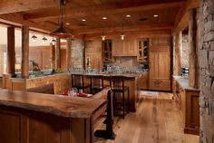 Rustic kitchens with eating bar ideas | Kitchens, Bars & Vanities – FREE kitchen design