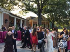 Wedding at Memphis Country Club. 10/10/2015