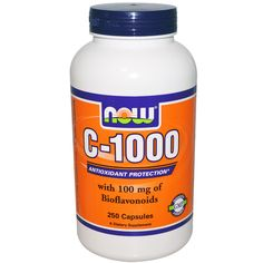 Now Foods, C-1000, 250 Capsules - 1st time buyers save $10 off orders of $40 and more and $5 off orders less than $40 at iherb.com  with discount code ATA717