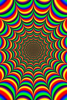 Rainbow fractal psychedelic