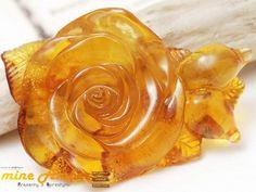 bursztyn bałtycki,roża