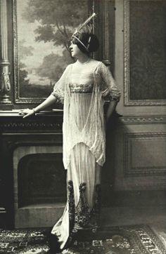 Robe par Boue Soeurs, 1912