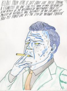 Drawing by Will Laren. #art #drawing #funny