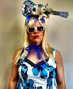 Ukulady Gaga costume by Kendra K, via Flickr #ukulele