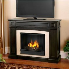 @@Amy Strickland Real Flame 3710-DW Rutherford Ventless Gel Fireplace Review Price Compare   SnowBlower2U