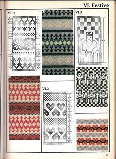 Machine knitting - Jacquard Machine knitting - jacquard # 38