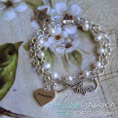 Infinity hope helmirannekoru Prinsessa sydänamuletilla <3