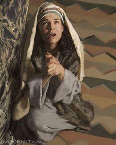 Matthew 6: Hannah Prays Looking Up