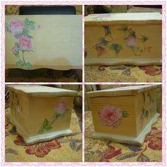 Pin By Dinaarts71 دينا يموت On Decoupage Arts Crafts Diy Box