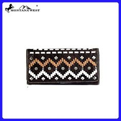 MW384-W008 Montana West American Cowgirl Collection Secretary Style Wallet-Coffee - Wallets (*Amazon Partner-Link)