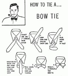 Tarreyn Land: How To Tie A Bow Tie