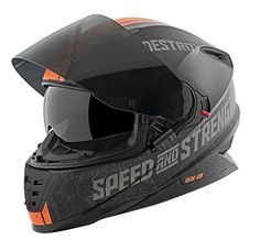 Speed and Strength Cruise Missile Men s SS1600 Sports Bike Motorcycle Helmet 3