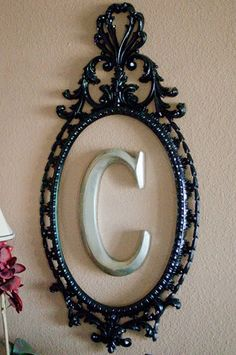 I have a similar frame from a thrift store w/no glass - this is the perfect idea for it!