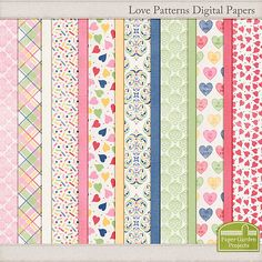 6 Guest Freebies: Free Digital Scrapbook Goodies From Paper Garden Projects: About our Guest Freebies: We enjoy shari. Papel Scrapbook, Printable Scrapbook Paper, Digital Scrapbook Paper, Printable Paper, Digital Papers, Digital Paper Freebie, Digital Scrapbooking Freebies, Printable Designs, Printables