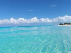 turquoise water - Grace Bay, Providenciales by courtney h