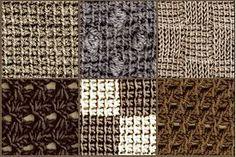tunisian crochet stitches                                                                                                                                                                                 More