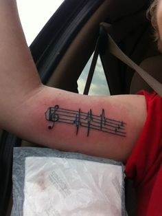 i love everything about music.. so why not. done by a guy named Danny at Customs in Altoona, PA.