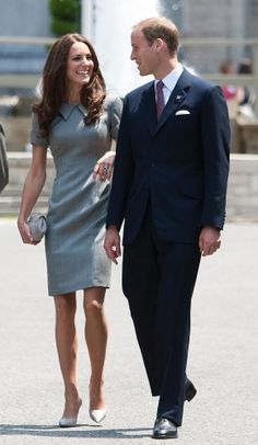 My favorite Kate Middleton dress so far from her North American tour =) Although, she never looks anything short of fabulous, whatever she wears!!!
