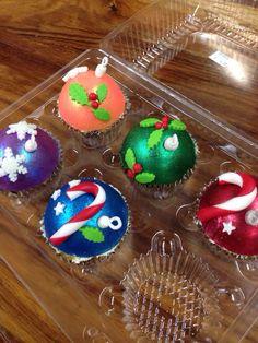 Cupcakes en forma de esferas!!