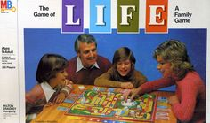 The #Game of LIFE...always tried to fill that car, and sometimes I had to caravan! #nostalgia #toysandgames