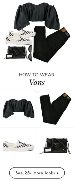 """Sans titre #930"" by el-khawla on Polyvore featuring E L L E R Y, Maison Scotch, Vans, Balenciaga and PAWAKA"