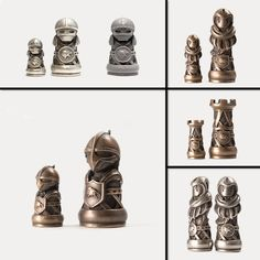 These 3D Printed Medieval Chess Pieces Are Badass