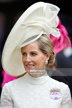 (EMBARGOED FOR PUBLICATION IN UK NEWSPAPERS UNTIL 48 HOURS AFTER CREATE DATE AND TIME) Sophie, Countess of Wessex attends day 1 of Royal Ascot at Ascot Racecourse on June 16, 2015 in Ascot, England. (Photo by Max Mumby/Indigo/Getty Images)