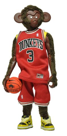 Dunkeys / 2008 by Coolrain Lee, via Behance