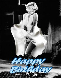 marilyn monroe happy birthday wishes | Happy Birthday pictures thatmove, animated cake and party clip art