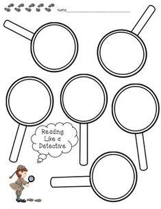 No Monkey Business: Read Like a Detective Book Study & Freebie Student Teaching, Teaching Reading, Teaching Ideas, Teaching Strategies, Reading Skills, Guided Reading, Learning, Reading Themes, Reading Resources