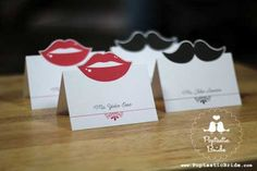 lips-mustache-place-cards ✿ Join 1,500 others & follow the Cards and paper crafts board. Visit GrannyEnchanted.Com for thousands of digital scrapbook freebies. ⊱✿⊰
