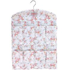 This+neat+little+tidy+is+ideal+for+hanging+in+your+wardrobe+or+on+the+back+of+a+door+and+is+a+great+way+to+keep+all+your+accessories+in+order.+The+pretty+Bleached+Flowers+print+is+also+available+in+a+range+of+storage+bags+so+you+can+create+a+cleverly+coordinated+wardrobe!